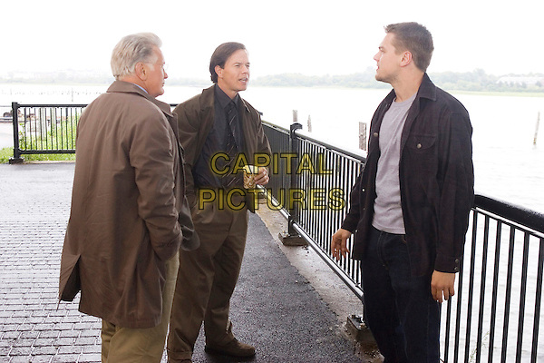 MARTIN SHEEN, MARK WAHLBERG & LEONARDO DiCAPRIO.in The Departed.*Editorial Use Only*.Ref: FB.www.capitalpictures.com.sales@capitalpictures.com.Supplied by Capital Pictures.