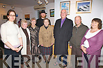 Pictured at the Breanndán Begley CD Launch Tour in Tech Amergin on Friday night last were l-r; Susan Walsh, Joan Murphy, Phill Collins, Bréanainn Ó Beaglaoich, Mary Murphy, Breanndán Begley, Paud Collins & Angela Hallisey.