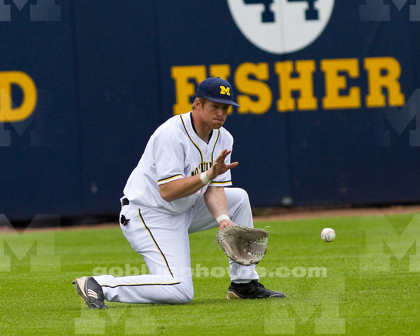 University of Michigan baseball 8-2 loss to Texas Tech at the Wilpon baseball complex in Ann Arbor, MI, on May 10, 2011.