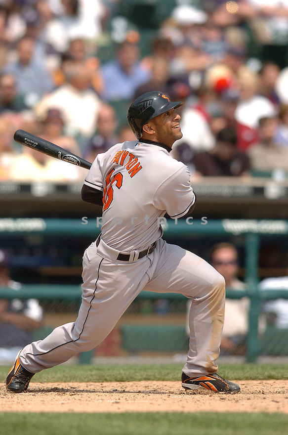 JAY PAYTON, of the Baltimore Orioles , in action during the Orioles game against the Detroit Tigers on May 2, 2007 in Detroit, Tigers...Tigers win 5-4...Chris Bernacchi/ SportPics..