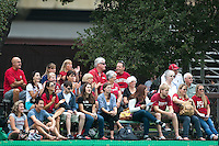 STANFORD, CA - September 19, 2010:  Fans during the Stanford Field Hockey game against Cal in Stanford, California. Stanford lost 2-1.