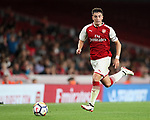 Arsenal's Julio Pleguezuelo in action during the premier league 2 match at the Emirates Stadium, London. Picture date 21st August 2017. Picture credit should read: David Klein/Sportimage