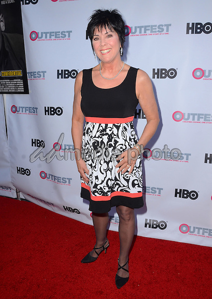 "11 July 2015 - West Hollywood, California - Joyce Dewitt. Arrivals for the 2015 Outfest Los Angeles LGBT Film Festival screening of ""Tab Hunter Confidential"" held at The DGA Theater. Photo Credit: Birdie Thompson/AdMedia"