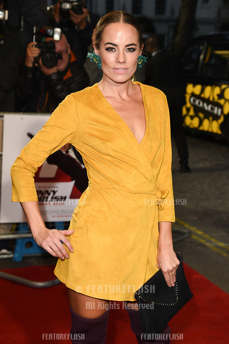 "LONDON, UK. October 03, 2018: Emma Conybeare at the premiere of ""Johnny English Strikes Again"" at the Curzon Mayfair, London.<br /> Picture: Steve Vas/Featureflash"