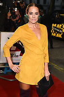 """LONDON, UK. October 03, 2018: Emma Conybeare at the premiere of """"Johnny English Strikes Again"""" at the Curzon Mayfair, London.<br /> Picture: Steve Vas/Featureflash"""