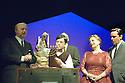 Caroline or Change. Book and Lyrics by Tony Kushner. With Ian Lavender as Grandpa Gellman,,Perry Millward as Noah Gellman, Valda Aviks as Grandma Gellman,Richard Henders as Stuart Gellman.  Opens at the Lyttleton  Theatre on 19/10/06 CREDIT Geraint Lewis