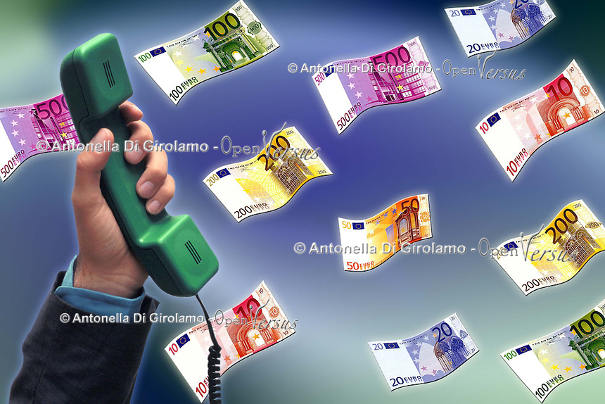 Aumenti delle tariffe telefoniche. .Increases in telephone charges. ...