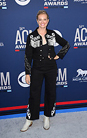 LAS VEGAS, NEVADA - APRIL 07: Beth Behrs attends the 54th Academy Of Country Music Awards at MGM Grand Hotel &amp; Casino on April 07, 2019 in Las Vegas, Nevada. <br /> CAP/MPIIS<br /> &copy;MPIIS/Capital Pictures