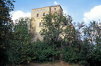 "Il castello di Zavattarello, paese in provincia di Pavia annoverato tra i ""borghi più belli d'Italia"" --- The castle of Zavattarello, small village in the province of Pavia rated within the ""most beautiful villages in Italy"""