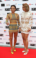 Melanie Brown and Phoenix Chi Gulzar at the British LGBT Awards at the London Marriott Hotel Grosvenor Square, Grosvenor Square, London on Friday 11 May 2018<br /> CAP/ROS<br /> &copy;ROS/Capital Pictures