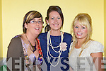 Gretta Ryan, Deirdre hayes, Mary Ladden at the fashion show in aid of Bee for Battens in Keel Community Centre on Friday night