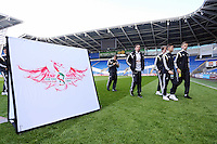 Pictured: Thursday 30 April 2015<br /> Re: FAW Youth Cup final, Cardiff City v Swansea City FC at the Cardiff City Stadium, south Wales, UK
