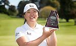 Womens Open winner Darae Chung. Jennian Homes Charles Tour, Carrus Open, Tauranga Golf Club, Tauranga, New Zealand, Thursday 10 October 2019. Photo John Borren/www.bwmedia.co.nz