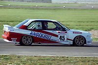 Final round of the 1991 British Touring Car Championship. #45 Ian Forrest (GBR). Drambuie Racing. BMW M3.
