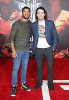 LOS ANGELES, CA - NOVEMBER 13: Darrell 'Bubba' Wallace Jr., Ryan Blaney, at the Justice League film Premiere on November 13, 2017 at the Dolby Theatre in Los Angeles, California. Credit: Faye Sadou/MediaPunch /NortePhoto.com