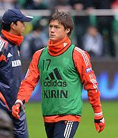 FUSSBALL   INTERNATIONAL   Testspiel    Japan - Brasilien          16.10.2012 Gotoku SAKAI (Japan) nur Ersatzspieler
