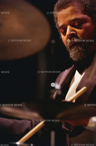 Jimmy Cobb, Oct, 1983 : Jimmy Cobb performing. Tokyo, Japan.