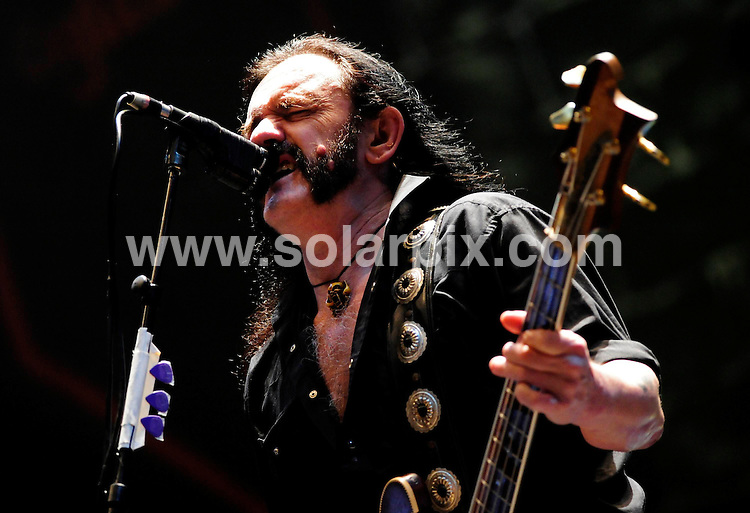 **ALL ROUND PICTURES FROM SOLARPIX.COM**.**SYNDICATION RIGHTS FOR UK AND SPAIN ONLY**.Motorhead performing at the music festival 'Rock am Ring' at the Nuerburgring racetrack, Nurnberg, Germany. 6th-8th June 2008...JOB REF: 6587 CPR/Clemens Bilan .DATE: 08_06_2008.**MUST CREDIT SOLARPIX.COM OR DOUBLE FEE WILL BE CHARGED* *UNDER NO CIRCUMSTANCES IS THIS IMAGE TO BE REPRODUCED FOR ANY ONLINE EDITION WITHOUT PRIOR PERMISSION*