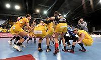 HC Leipzig : DVSC Korvex - Handball Damen Women Champions League - .Nach einem souveränen 31:25 Erfolg gegen den ungarischen Vize-Meister DVSC Korvex vor 2.747 Zuschauern in der Leipziger ARENA - im Bild: Die HCL Damen haben Grund zum Jubeln.   Foto: Norman Rembarz