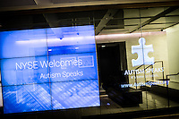 Autism Speaks VIP party at NYSE