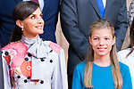 Queen Letizia and Infant Sofia attend auddience in Oviedo because of Princess of Asturias Awards 2019. October 18, 2019 (Alterphotos/ Francis Gonzalez)
