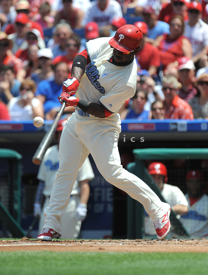 Philadelphia Phillies Odubel Herrera (37) during a game against the Arizona Diamondbacks on June 19, 2016 at Citizens Bank Park in Philadelphia, PA. The Diamondbacks beat the Phillies 3-1.