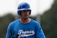 21 july 2010: Gaspard Fessy of Team France is seen during a practice prior to the 2010 European Championship Seniors, in Neuenburg, Germany.