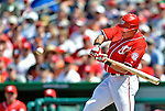 20 May 2012: Washington Nationals outfielder Rick Ankiel in action against the Baltimore Orioles at Nationals Park in Washington, DC. The Nationals defeated the Orioles 9-3 to salvage the third game of their 3-game series. Mandatory Credit: Ed Wolfstein Photo
