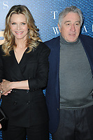 www.acepixs.com<br /> May 11, 2017  New York City<br /> <br /> Michelle Pfeiffer and Robert De Niro attending the 'The Wizard Of Lies' New York Premiere at The Museum of Modern Art on May 11, 2017 in New York City. <br /> <br /> Credit: Kristin Callahan/ACE Pictures<br /> <br /> <br /> Tel: 646 769 0430<br /> Email: info@acepixs.com