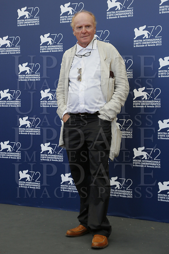 Alberto Cracco attends a photocall for the movie 'Blood Of My Blood' during the 72nd Venice Film Festival at the Palazzo Del Cinema in Venice, Italy, September 8, 2015.<br /> UPDATE IMAGES PRESS/Stephen Richie