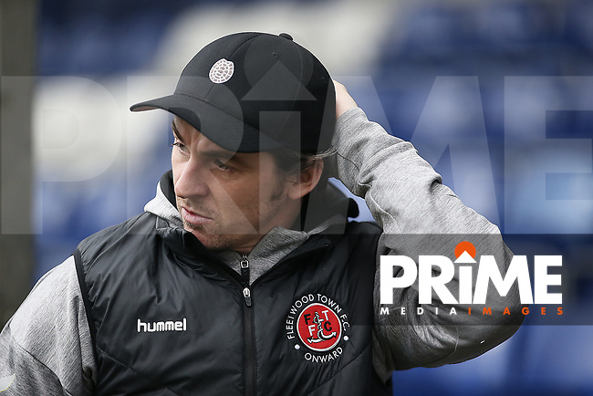 Joey Barton manager of Fleetwood Town arrives for the Sky Bet League 1 match between Bristol Rovers and Fleetwood Town at the Memorial Stadium, Bristol, England on 25 January 2020. Photo by Dave Peters / PRiME Media Images.