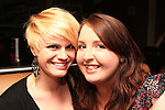 Gina Sadlier and Sarah Matthews enjoy a night in Barroco..Picture: Shane Maguire / www.newsfile.ie.