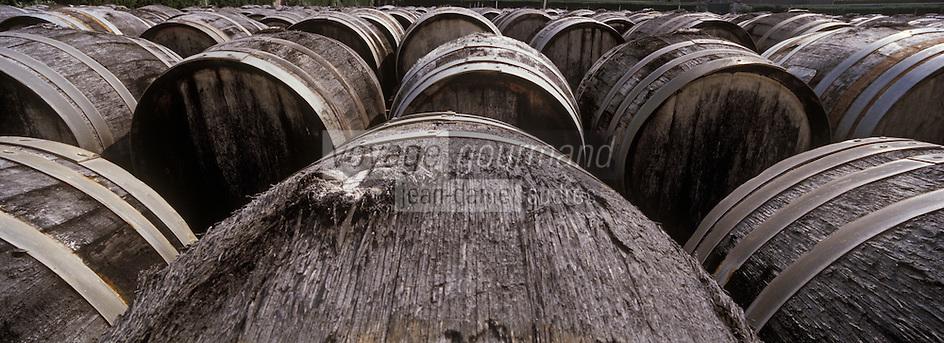 Europe/France/Languedoc-Roussillon/34/Hérault/Marseillan: Chais de Noilly-Prat - Vieillissement en futs (Vermouth sec)