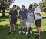 A photograph taken during the Scramble for Science golf tournament at Lakeridge Golf Course on Friday, June 23, 2017.