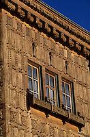"Europe/Suisse/Engadine/St-Moritz: ""Le Carlton"" - Façade du palace"