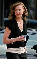 Katherine Heigl filming ''27 Dresses''<br /> 2007<br /> Photo By John Barrett/CelebrityArchaeology.com