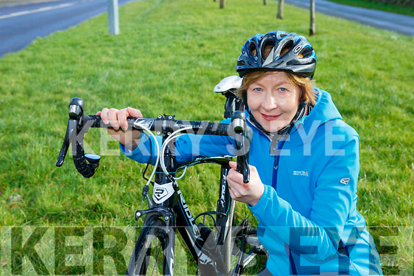 Maria O'Connell, Killarney who will be cycling France in March for the Irish Pilgrimmage Trust