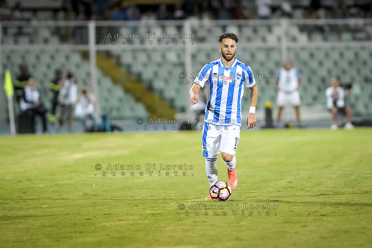 Francesco Zampano (PESCARA) during the Italian Cup - TIM CUP -match between Pescara vs Frosinone, on August 13, 2016. Photo: Adamo Di Loreto/BuenaVista*photo