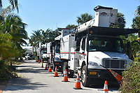 2017 FPL Hurricane Irma restoration in Delray, Fla. on Sept. 14, 2017.
