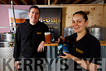 Joe & Mags McGill from McGills Brewery at Murreigh, Waterville.