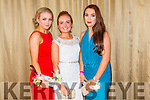 Attending the Castleisland Community College Debs at the Earl of Desmond Hotel on Friday night were  l-r  Becky Ahern, Amy Brown and Hannah O'Connor.