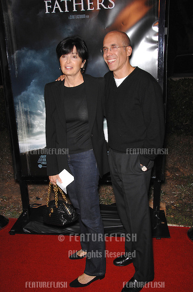 """JEFFREY KATZENBERG & wife at the Los Angeles premiere of """"Flags of our Fathers""""..October 9, 2006  Los Angeles, CA.Picture: Paul Smith / Featureflash"""
