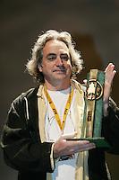 September 2005 - Montreal (Qc) CANADA - Claude Gagnon received the Air Canada public award at 2005 World Film Festival for his movie KATAMAKI
