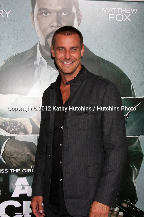 """LOS ANGELES - OCT 15:  Ingo Rademacher arrives at the """"Alex Cross"""" Premiere at ArcLight Cinemas Cinerama Dome on October 15, 2012 in Los Angeles, CA"""