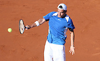 26.04.2012. Barcelona, Spain.ATP Barcelona Open Banc Sabadell. Picture show Albert Montanes (ESP)