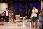 """Brenda Withers & Davy Raphaely star in """"Other Desert Cities"""" at the tech rehearsal (in costume) on October 14, 2015 at Whippoorwill Halll Theatre, North Castle Library, Kent Place, Armonk, New York.  (Photo by Sue Coflin/Max Photos)"""