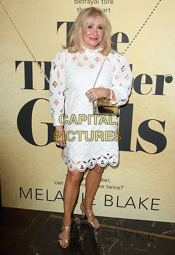 Carol Harrison at The Thunder Girls book launch party at The Court, Kingly Street, London on July 2nd 2019<br /> CAP/ROS<br /> ©ROS/Capital Pictures