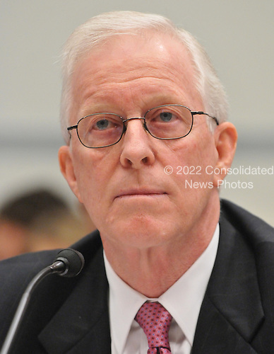 """Washington, D.C. - October 7, 2008 -- Robert B. Willumstad, former Chief Executive Officer, AIG, testifies before the United States House  Committee on Oversight and Government Reform hearing on """"The Causes and Effects of the AIG Bailout"""" in the Rayburn House Office Building on Tuesday, October 7, 2008..Credit: Ron Sachs / CNP.(RESTRICTION: NO New York or New Jersey Newspapers or newspapers within a 75 mile radius of New York City)"""
