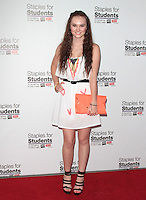 UNIVERSAL CITY, CA - JULY 22: Madeline Carroll at the 2012 Staples For Students 'Party' For A Cause hosted by Staples, DoSomething.org and Bella Thorne at the Globe Theatre at Universal Studios on July 22, 2012 in Universal City, California © mpi21/MediaPunch Inc. /NortePhoto.com*<br />