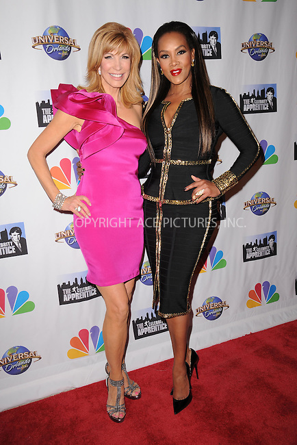 WWW.ACEPIXS.COM<br /> February 16, 2015 New York City<br /> <br /> Leeza Gibbons and Vivica A. Fox arriving to the Celebrity Apprentice Finale viewing party and post show red carpet on February 16, 2015 in New York City.<br /> <br /> Please byline: Kristin Callahan/AcePictures<br /> <br /> ACEPIXS.COM<br /> <br /> Tel: (646) 769 0430<br /> e-mail: info@acepixs.com<br /> web: http://www.acepixs.com